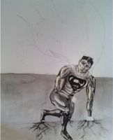 Superman WIP by xunbridledx