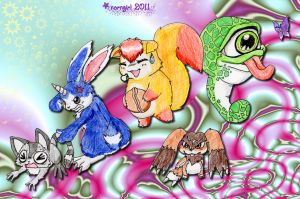 ::Monster Rancher-Why the...:: by norngirl
