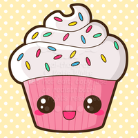 Happy Cupcake by pai-thagoras