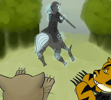 Hunting in Runterra by tamisise