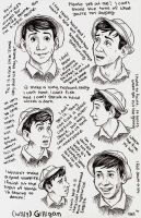 Gilligan Expressions by chill13
