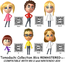 Tomodachi Collection Miis REMASTERED - Volume 1 by GWizard777