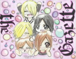 The Gazette Chibi Stack-up by JRockSunako