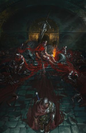Dark souls 3 - Abyss Watchers by Ishutani