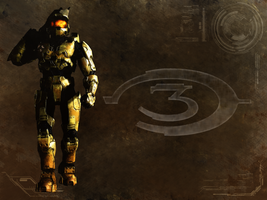 Halo 3 Wallpaper by xCUB4N
