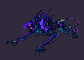 TFP Fan Design Ravage Color by BLACK-HEART-SPIRAL
