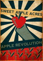 Apple Revolution Poster by Fr3zo
