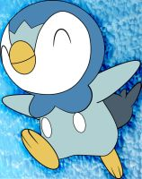 How To Draw Piplup by a-watt89