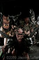 GWAR - 25th Aniv. Halloween by JeremySaffer
