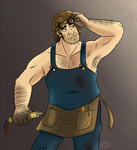 Team Fortress Classic OC: Young Engineer Daniel by His-Bushman