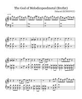 Hetaoni Sheet Music: The Brofist Song by echodvcc