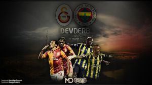 Dev Derbi Wallpaper Calismasi ft meridian by EsegaGraphic