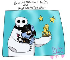 Oscars 2015 Winners (MLH6) by Dulcechica19
