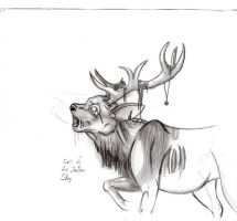 Call of the Fallen Stag by SasoriDanna94