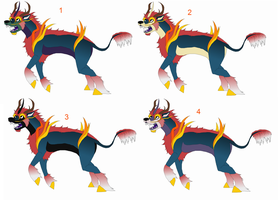 Chinese unicorn design by ZappyAttack