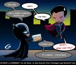 Batman vs Superman You will bleed  By Gad Eng ver by Dreamgate-Gad