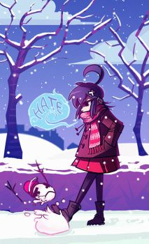 I hate the cold by DeadSlug