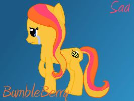 Bumbleberry sad my first attempt ever by candytoy52