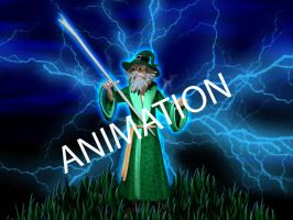 Wizard Animation by lisarts