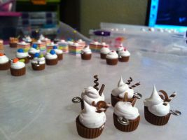 Chocolate Cupcake Assortment by CuteTherapy