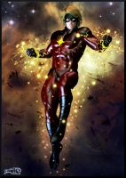 Mar-Vell , the Kree (Captain Marvel) by Philart666