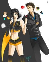 Rekkless and Val by J-AxT13