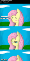 .Comic 1: EoH: Fluttershy - My Lament. by ZSparkonequus