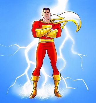 Shazam! by mikeyroberts