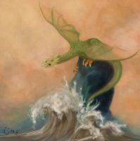 dragon by paulase