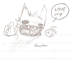 Doodlez - Haunter by Aruesso