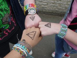 Deathly Hallows by CraziFish