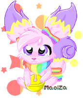 Baby Rainbow Usul by Maoiza