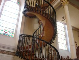 Winding Stair by wolvensong