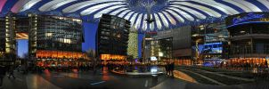 Sony Center, Berlin - Panorama by NickKoutoulas