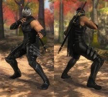 My favorite DOA outfits (Ryu C1) by DoAfanboi