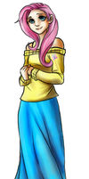 Commission: Fluttershy by PailKnight