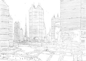 Cityscape by PenUser