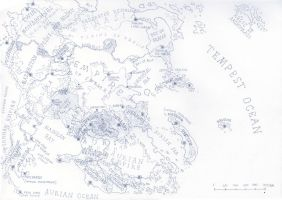 Map of the Continent by PenUser