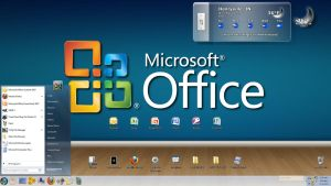 My Office 2007 Theme Preview by creativecraig