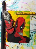 Sketch card Deadpool by SoVeryUnofficial