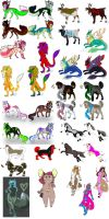 Alot of adopts for sale by minda19