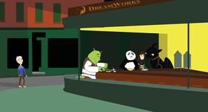 DreamWorks Nighthawks by thearist2013