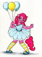 Anthro Pinkie Pie by Nethilia