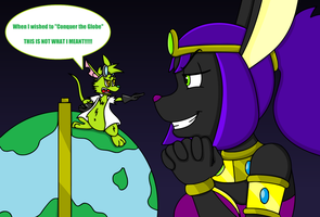 Ruler of the Globe by dragovian15