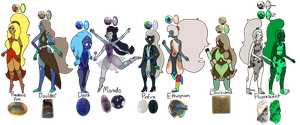 Opal adopts - OPEN by LunaTheNightFury