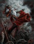 The Fall of Enjolras by DarthFar