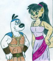 HJ - Dudley and Kitty by Jose-Ramiro