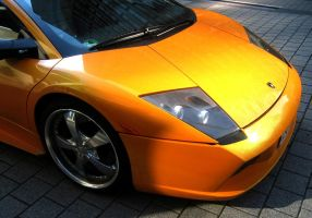 Fierce Glare Of The Murcielago by toyonda