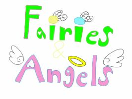 Fairies and Angels logo by jlj16