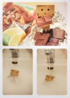 danbo and the choco slaughter by BehrSebastian